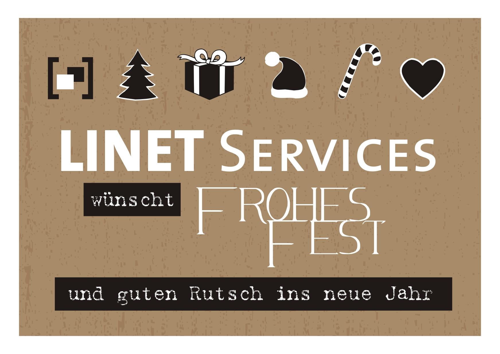 Weihnachtsgruß 2014 der LINET Services GmbH