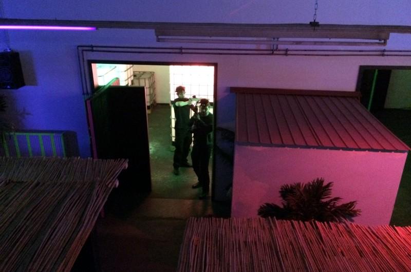 LINET Services Teamabend beim Lasertag in der Laser-Rebellion Braunschweig