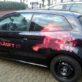 Der LINET Services Löwe ziert inzwischen auch unsere Firmenwagen.