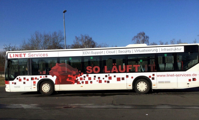 LINET-Services-Bus in Braunschweig